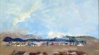 Expoziţie de pictură Petru Dumbrăveanu şi Constantin Ilea