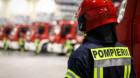 Intervenție periculoasă a pompierilor clujeni