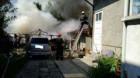 Incendiu urmat de explozie în centrul municipiului Cluj-Napoca