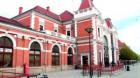 """Gara din Cluj-Napoca, poarta de intrare în """"Orașul Comoară"""", la ceas aniversar"""