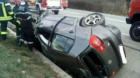 Accident pe varianta ocolitoare Bulevardul Muncii-Apahida