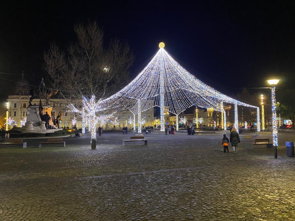 Iluminat Festiv Cluj-Napoca