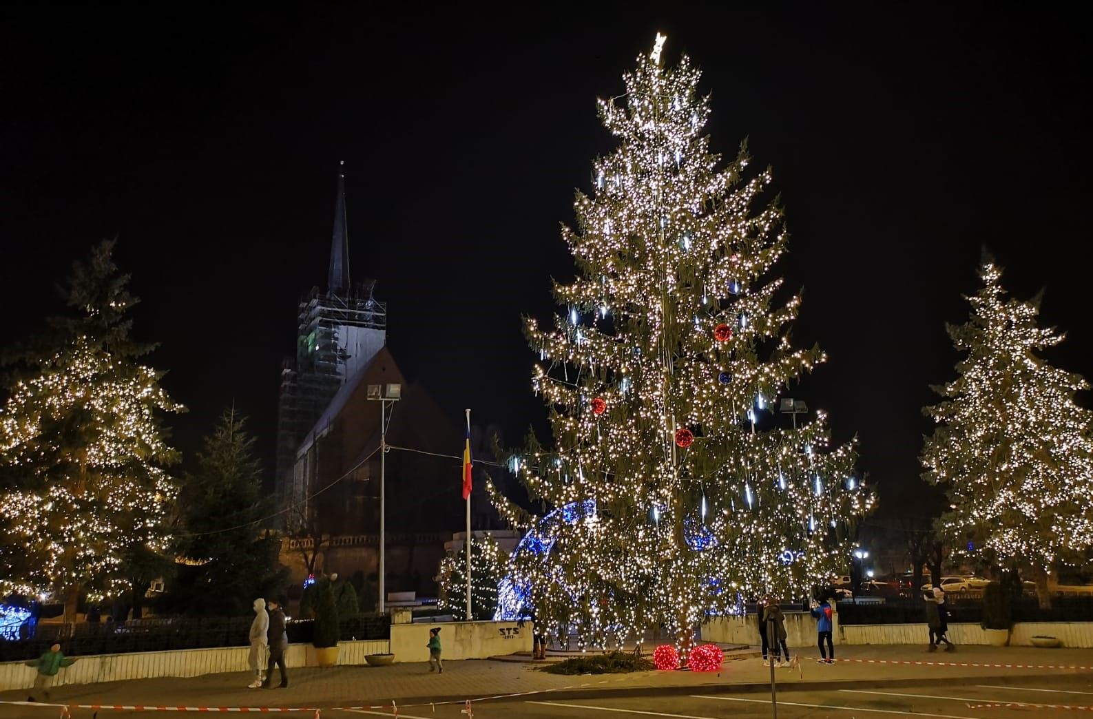 Iluminat Festiv Dej
