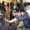 Exerciţii demonstrative ale jandarmilor clujeni la Iulius Mall