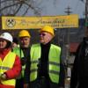 """Membrii GIMPCRM – """"impresionaţi de calitatea lucrărilor de restaurare a clădirii vechii primării"""" din Roşia Montană"""