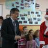 Primarul Dejului, în serviciul lui Moş Crăciun