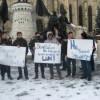 Revoltă anti-Băsescu la Cluj-Napoca
