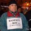 Protestul din Piaţa Universităţii a continuat şi la minus 15 grade. La fel, protestele din ţară