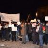 """A şasea zi de proteste la Cluj-Napoca: """"Nu vrem să fim o naţie de sclavi!"""""""