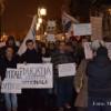 """A opta zi de proteste la Cluj-Napoca: """"Pleacă Băsescu, pleacă Băsescu, pleacă şi lasă-ne!"""""""