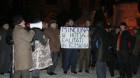 """A 26-a zi de protest la Cluj: """"Noi sîntem pionii/Nu ne plac spionii"""""""