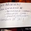 """A 29-a zi de proteste la Cluj: """"Băsescu după Boc,/ Demisia pe loc!"""""""