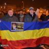 """A 39-a zi de proteste, la Cluj: """"Băsescule, nu rezişti/ Nici cu mii de securişti!"""""""