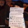 """A 54-a zi de proteste, la Cluj: """"Ungureanu, nu uita/ Nici Ardealul nu te vrea!"""""""