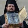 De sărbătoarea Mitropoliei Clujului, un fragment din Sfînta Cruce a fost adus vineri, la Cluj-Napoca