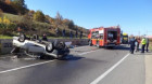 Un alt accident pe E60