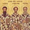 Sfinţii Trei Ierarhi, sărbătoriţi miercuri