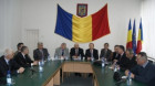 Dej: Proiecte şi probleme discutate la întîlnirea cu prefectul Gheorghe Vuşcan