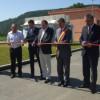 S-a tăiat panglica la noua Staţie de Epurare a municipiului Dej