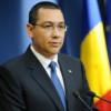 Ponta: Ziua de astăzi trebuie să ne amintească tuturor că puterea stă în unire
