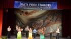 """Spectacolul interetnic de folclor """"Uniţi prin Tradiţii"""" – o reuşită"""