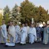 Procesiune pentru celebrarea Sfintei Marii, în eparhia greco-catolică de Cluj-Gherla