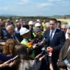 Tronsonul de autostradă Gilău-Nădăşelu va fi finalizat pînă în noiembrie 2015