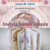 Vernisaj la SILVIA'S ART GALLERY: Andreia CISMAŞIU – PICTURĂ şi BOOK ART