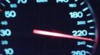 Cu 232 km/h pe autostradă!