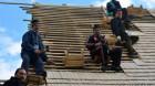 Biserica de lemn din Beliş a intrat în reparaţii