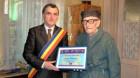 Dej: Părintele Nicula a împlinit 102 ani şi a fost felicitat de primarul Costan Morar