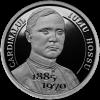 Monedă din argint în memoria cardinalului Iuliu Hossu