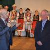 """""""Senior al cetăţii"""", profesorul Lucian Iosip a fost omagiat de dejeni"""