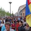 Mitingul anti Ponta de joi seara de la Cluj, presărat cu elemente autonomist- separatiste