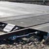 Un tren a susprins un TIR, la o trecere la nivel cu calea ferată din Sînicoară