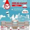 """Campanie de donare de sînge: """"Donăm împreună, UBB dă startul"""""""