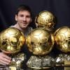 Fotbal – Messi, colecţionarul de baloane de…aur