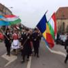 Primarul Emil Boc a fost întrerupt în timpul discursului susţinut de Ziua Maghiarilor de Pretutindeni