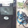 Staţia de biciclete de pe strada Mirăslău a fost vandalizată