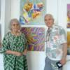 """Expoziţia """"Tandem"""" cu Eugenia Boteanu şi Victor Foca"""