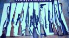 Arme şi cartuşe confiscate de poliţişti
