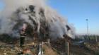 ISU Cluj: Peste 19 ore au durat operaţiunile de stingere a incendiului de la rampa temporară a municipiului Cluj-Napoca