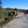 Lucrările de întreţinere pe drumul judeţean DJ 108C Gârbău – Aghireş – Leghia – DN1 continuă în ritm susţinut