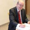 Ambasadorul  Marii Britanii la Bucureşti în vizită la Gherla
