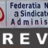 Sindicaliştii din administraţie ameninţă cu greva, Vasile Dâncu promite rezolvarea solicitărilor