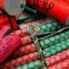 Articole pirotehnice confiscate de politişti