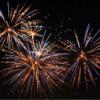 Foc de artificii în noaptea de Revelion, la Gherla