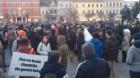 Protest de amploare la Cluj-Napoca