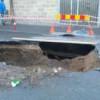 """Enigmaticul crater de pe strada """"Aurel Suciu"""""""