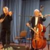 Cantautorul Adrian Sărmăşan şi un trio de la RCF au cântat de Ziua Culturii Naţionale